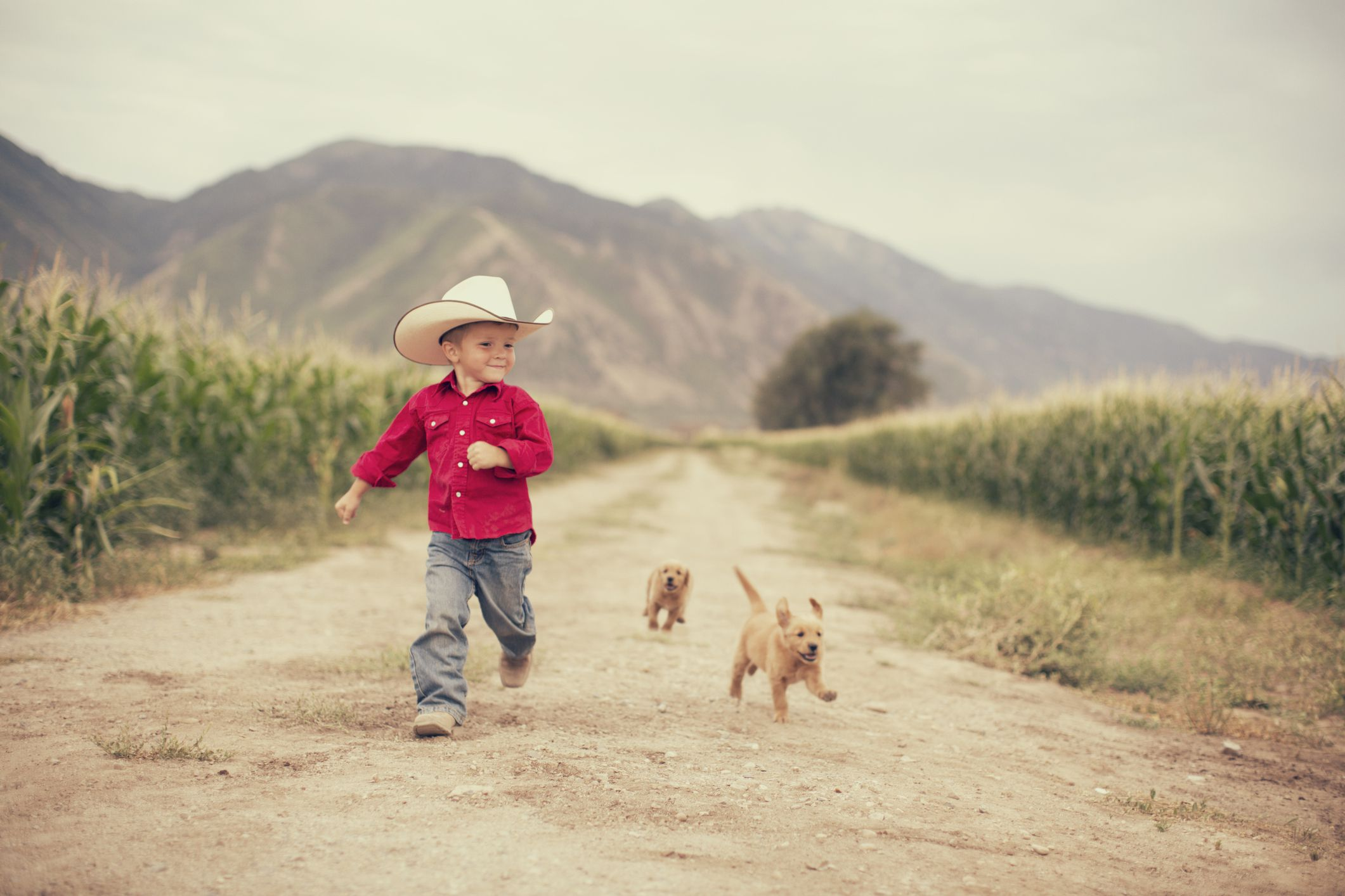 criança country