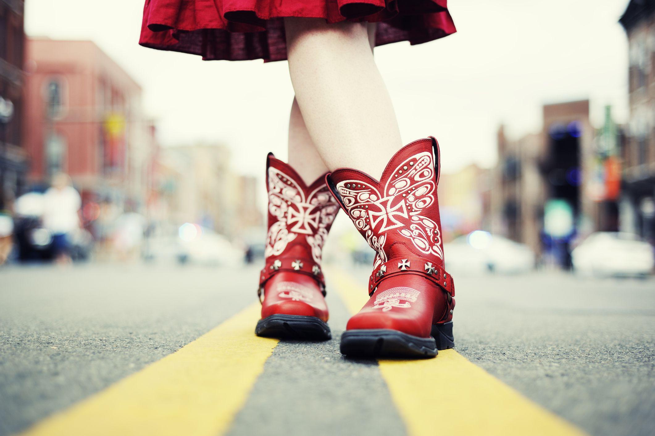 look com bota texana feminina
